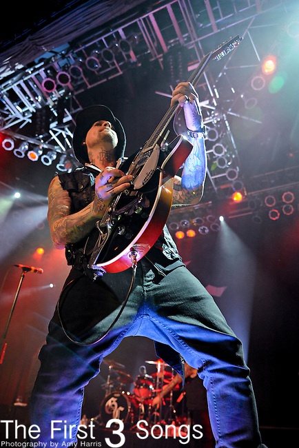 Benji Madden of Good Charlotte performs at the House of Blues in Chicago, IL on Tuesday March 15, 2011.