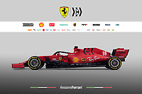 Ferrari F1 SF1000 Formula 1<br /> Photo Scuderia Ferrari Press Office / Insidefoto <br /> Editorial USE ONLY <br /> The picture cannot be modified and must be reproduced in its entirety.