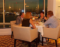 EUS- Armani's Restaurant at Grand Hyatt - Main Dining Room with Waterfront Vistas, Tampa FL 9 16