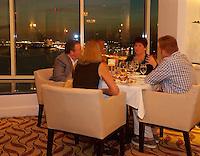 EUS- Armani's Restaurant at Grand Hyatt - Main Dining Room with Waterfront Vistas, Tampa FL 9 16