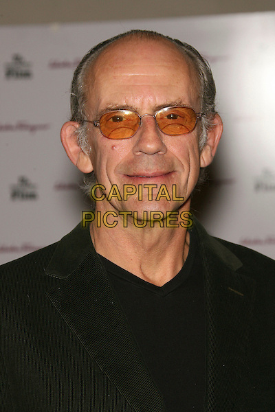 "CHRISTOPHER LLOYD.SBIFF Opening Night - ""Factory Girl"" Premiere held at Arlington Theatre, Santa Barbara, California, USA..January 25th, 2007.headshot portrait tinted glasses sunglasses shades.CAP/ADM/ZL.©Zach Lipp/AdMedia/Capital Pictures"