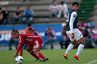MARIO RODRIGUEZ Y ANDY BAQUERO PUEBLA -Mexico, March 1, 2013: The U.S. Under-20 Men's National Team advanced to the title match of the 2013 CONCACAF U-20 Championship with a 2-0 victory against Cuba at Estadio Cuauhtémoc. Mario Rodriguez and Daniel Cuevas scored three minutes apart and Cody Cropper recorded his second shutout of the tournament in putting the U.S. through to the final.