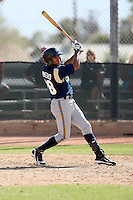 Franklin Romero, Milwaukee Brewers 2010 minor league spring training..Photo by:  Bill Mitchell/Four Seam Images.