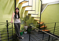 Fiorenza Cordero at her atelier in the Roma neighborhood of Mexico City.