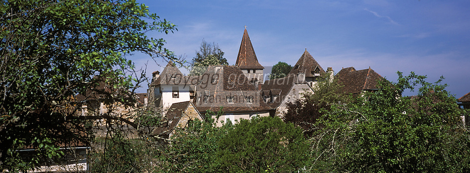 Europe/France/Midi-Pyrénées/46/Lot/Haut-Quercy/Carennac: Le village