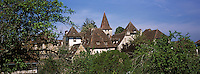 Europe/France/Midi-Pyrénées/46/Lot/Haut-Quercy/Carennac : Le village