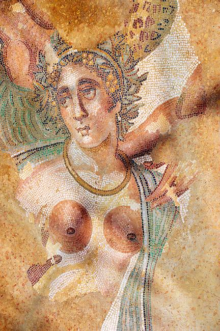 Ancient Roman mosaics at the Villa Romana del Casale, Sicily, Italy Pictures, Photos, Images & fotos
