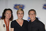 """Brenda Wehle - Molly Price - Stephen Spinella at the Opening Night party of Signature Theatre Company's """"The Illusion"""" on June 5, 2001 at the West Bank Cafe with the play at the Peter Norton Space, New York City, New York.  (Photo by Sue Coflin/Max Photos)"""