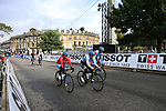 Riders take advantage of free practice on the Harrogate Circuit before the Men Elite Individual Time Trial of the UCI World Championships 2019 running 54km from Northallerton to Harrogate, England. 25th September 2019.<br /> Picture: Eoin Clarke | Cyclefile<br /> <br /> All photos usage must carry mandatory copyright credit (© Cyclefile | Eoin Clarke)
