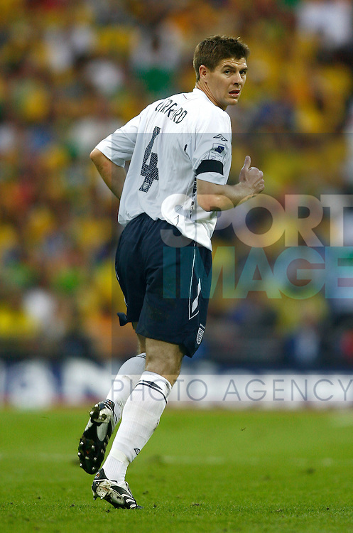 England's Steven Gerrard..International Friendly..England v Brazil..1st June, 2007..--------------------..Sportimage +44 7980659747..admin@sportimage.co.uk..http://www.sportimage.co.uk/