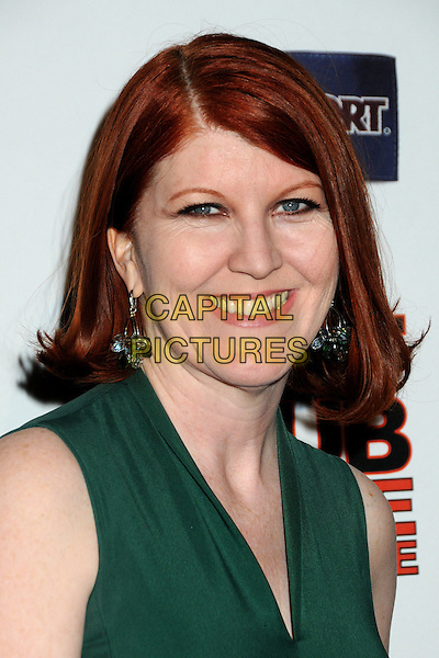 "KATE FLANNERY.""Hot Time Time Machine"" World Premiere Party held at the Cabana Club, Hollywood, California, USA..March 17th, 2010.headshot portrait green sleeveless dangling earrings .CAP/ADM/BP.©Byron Purvis/AdMedia/Capital Pictures."
