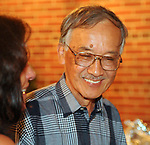 Henry Moritsugu seen attending the Newsday Family Reunion at the Pavillion at Sunken Meadow State Park in Kings Park, NY,  on Thursday August 12, 2010. Photo © Jim Peppler 2010.