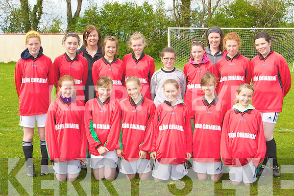 The Camp team that played Castleisland in the Under 12 Bowl final in Castleisland on Saturday front row l-r: Kate Shannon, Hannah McCarthy, Caroline Maunsell, Amy Finn, Kate Kennedy, Michelle Mansell. Back row: Kathleen O'Connor, Niamh Kennedy, Liz O'Donoghue coach, Clodagh Mckenna, Mairead Dineen, Aoife Falvey, Niamh Kenny, Claire Tracey-O'Driscoll coach, Lauren Costello and Keelyn O'Brien
