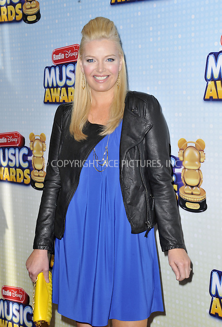 WWW.ACEPIXS.COM....April 27 2013, LA....Melissa Peterman arriving at the 2013 Radio Disney Music Awards at the Nokia Theatre L.A. Live on April 27, 2013 in Los Angeles, California...........By Line: Peter West/ACE Pictures......ACE Pictures, Inc...tel: 646 769 0430..Email: info@acepixs.com..www.acepixs.com