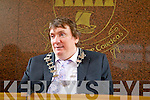 Terry O'Brien who was installed as Mayor of Kerry at the Kerry County meeting on Friday.