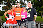 Marilyn O'Shea, Brian O'Shea, Ann O'Shea and David Slattery at the Red Cross 10k Run on Sunday