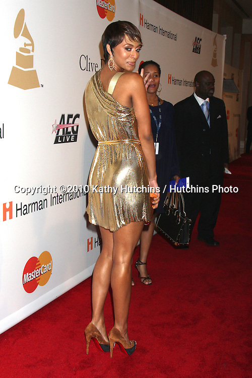 Keri Hilson.arriving at the Clive Davis Pre-Grammy Party .Beverly Hilton Hotel.Beverly Hills, CA.January 30, 2010.©2010 Kathy Hutchins / Hutchins Photo....