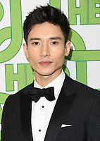 06 January 2019 - Beverly Hills , California - Manny Jacinto . 2019 HBO Golden Globe Awards After Party held at Circa 55 Restaurant in the Beverly Hilton Hotel. <br /> CAP/ADM/BT<br /> ©BT/ADM/Capital Pictures