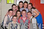CAST: Students from the Oliver Hurley Stage School of Musical Theatre who were on stage at Siamsa Tire, Tralee, on Friday night. They were Sean Hanafin, Jamie Herlihy, Eric Heaslip, Nathan Flood, Rachel O'Neill, Nicole Flynn, Sarah Capse, Aideen O'Connor and Abbey Herrick..