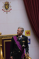 Prince Philippe of Belgium Swearing Ceremony - Belgium
