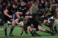 Jean-Luc du Preez during the Rugby Championship match between the New Zealand All Blacks and South Africa Springboks at QBE Stadium in Albany, Auckland, New Zealand on Saturday, 16 September 2017. Photo: Shane Wenzlick / lintottphoto.co.nz