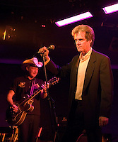 Don Walker and his band performing at the Ian Rilen benefit concert, 5 October 2006
