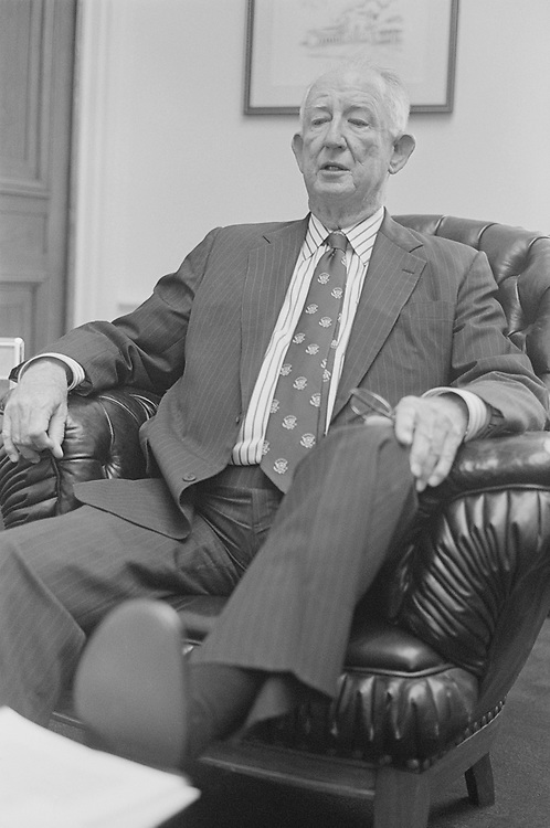 Rep. Sam Gibbons, D-Fla. in March 1994. (Photo by Chris Martin/CQ Roll Call)