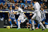 16.12.2012 SPAIN -  La Liga 12/13 Matchday 16th  match played between Real Madrid CF vs  RCD Espanyol (2-2) at Santiago Bernabeu stadium. The picture show Mesut Ozil (German midfielder of Real Madrid)