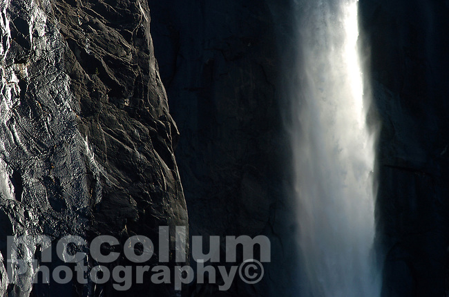 20100528 -- .Michael McCollum.Bridalveil Fall is one of the most prominent waterfalls in the Yosemite Valley in California, seen yearly by millions of visitors to Yosemite National Park.