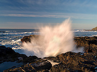 Waves at Cape Perpetua. Oregon