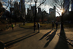 FEATURES - People enjoy the first day of Spring in New York