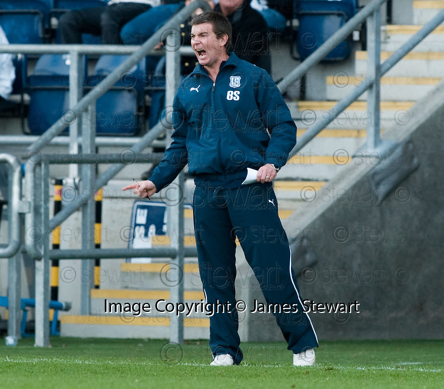 30/10/2010   Copyright  Pic : James Stewart.sct_jsp021_falkirk_v_dundee  .:: DUNDEE MANAGER BARRY SMITH :: .James Stewart Photography 19 Carronlea Drive, Falkirk. FK2 8DN      Vat Reg No. 607 6932 25.Telephone      : +44 (0)1324 570291 .Mobile              : +44 (0)7721 416997.E-mail  :  jim@jspa.co.uk.If you require further information then contact Jim Stewart on any of the numbers above.........