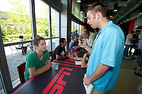The USA Men's National Soccer Team visits the ESPN campus, in Bristol, CT, Wednesday, May 26, 2010 to announce the 23 players heading to South Africa for the 2010 World Cup. .