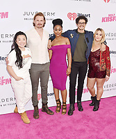 CARSON, CA - JUNE 01: (L-R) Sherry Cola, Josh Pence, Zuri Adele, Tommy Martinez and Emma Hunton of Good Trouble attend 2019 iHeartRadio Wango Tango at The Dignity Health Sports Park on June 01, 2019 in Carson, California.<br /> CAP/ROT/TM<br /> ©TM/ROT/Capital Pictures
