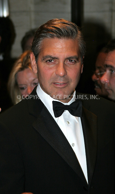 WWW.ACEPIXS.COM . . . . . ....NEW YORK, SEPTEMBER 23, 2005....George Clooney at the 'Good Night, and Good Luck' premiere kicking of fthe opening night of the 43rd New York Film Festival.....Please byline: NANCY RIVERA - ACE PICTURES.. . . . . . ..Ace Pictures, Inc:  ..Craig Ashby (212) 243-8787..e-mail: picturedesk@acepixs.com..web: http://www.acepixs.com