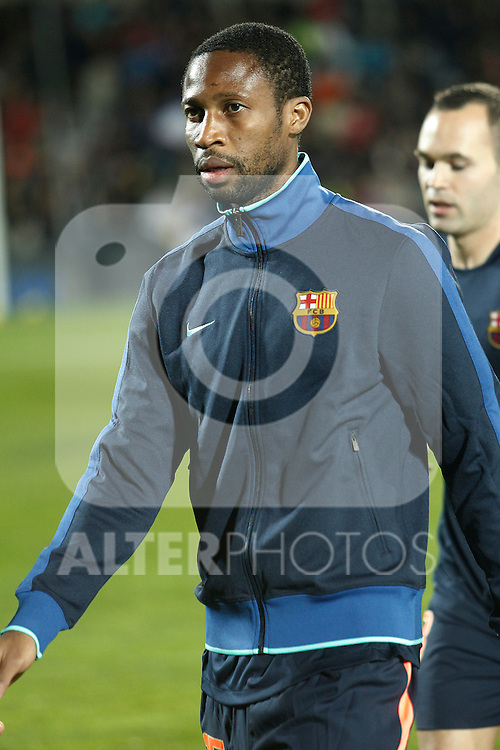 GETAFE, Madrid (07/11/2010).- Spanish League match Getafe vs Barcelona. ...Photo: Cesar Cebolla / ALFAQUI