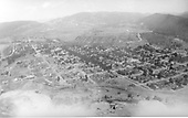 Elevated view of Durango from Smelter Hill.<br /> Durango, CO