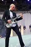 Josh Rand of Stone Sour performs during the 2013 Rock On The Range festival at Columbus Crew Stadium in Columbus, Ohio.