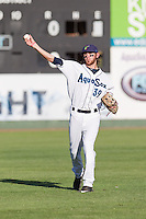 Conner Hale (39) of the Everett Aquasox prior to a game against the Vancouver Canadian at Everett Memorial Stadium in Everett, Washington on July 27, 2015.  Everett defeated Vancouver 6-0. (Ronnie Allen/Four Seam Images)