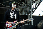 J-Dog of Hollywood Undead performs during the 2013 Rock On The Range festival at Columbus Crew Stadium in Columbus, Ohio.