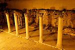Jerusalem, Israel, The Jewish Quarter at the Old City. The Cardo, the main street of the Byzantine era Jerusalem<br />