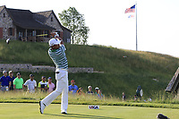 Yusaku Miyazato (JPN) tees off the 1st tee to start his match during Thursday's Round 1 of the 117th U.S. Open Championship 2017 held at Erin Hills, Erin, Wisconsin, USA. 15th June 2017.<br /> Picture: Eoin Clarke | Golffile<br /> <br /> <br /> All photos usage must carry mandatory copyright credit (&copy; Golffile | Eoin Clarke)