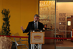Denny's on Fremont Street's Grand opening and Ribbon Cutting opening remarks from Denny's CEO John Miller