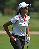 Malini Rudra of Syosset makes her way to the 18th Hole of Bethpage State Park's Green Course during the varsity girls' golf Long Island team championship against Smithtown East on Wednesday, June 3, 2015. She shot an 11-over 82 to help Syosset to a 421-444 victory.<br /> <br /> James Escher