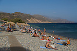 Chalikia Beach in Paleochora, Crete, Greece
