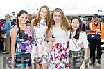 Enjoying Ladies Day at the Listowel Races on Friday were: Tori O Connor, Moira O'Neill, Ellie Shanahan, Laura McCarthy from Listowel