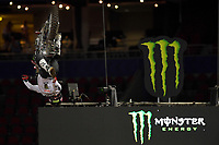 FMX / Harry Bink<br /> Monster Energy Aus-XOpen<br /> Supercross &amp; FMX International<br /> Qudos Bank Arena, Olympic Park NSW<br /> Sydney AUS Sunday 12  November 2017. <br /> &copy; Sport the library / Jeff Crow