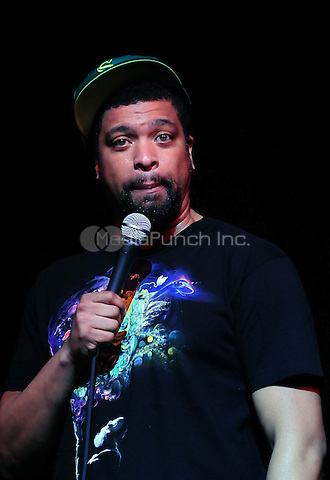 MIAMI, FL - APRIL 23: Actor/Comedian DeRay Davis performs during The Barber Shop Comedy Tour Presented by Peoples Choice Entertainment at James L. Knight Center on April 23, 2011 in Miami, Florida. (photo by: MPI10/MediaPunch Inc.)