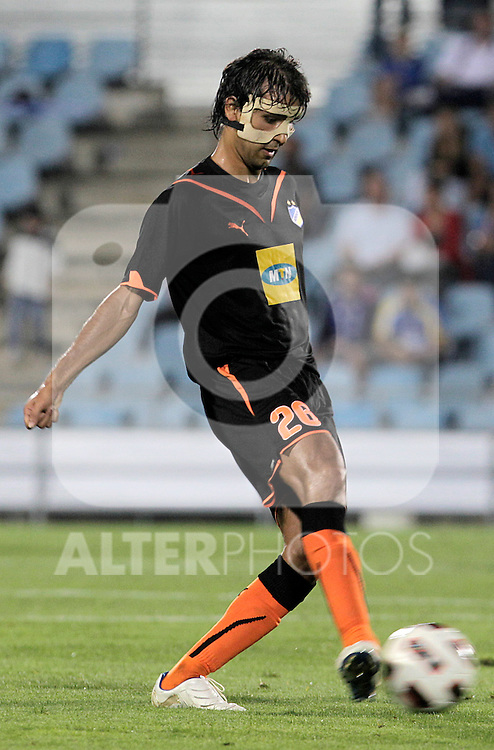 Apoel Nicosia's Nuno Morais during UEFA Europa League match. August 19, 2010. (ALTERPHOTOS/Acero)
