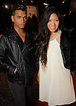 Farid Ali and Alyssa Rivera on the red carpet at Fashion Houston 5 at the Wortham Theater Friday Nov. 21, 2014.(Dave Rossman photo)